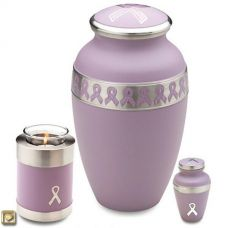 Breast Cancer Awareness Cremation Urn