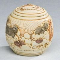 Cats Forever & Ever Cremation Urn