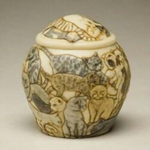 Cats Galore Cremation Urn -  - 783526