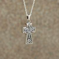 Celtic Cross Keepsake Cremation Pendant