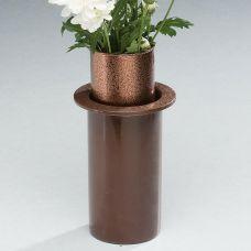 Cemetery Flower Vases Half & Ground Level