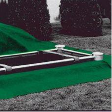 Cemetery Plot Poly Turf Grass