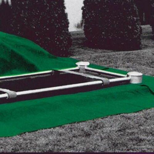 Cemetery Plot Poly Turf Grass -  - 549762