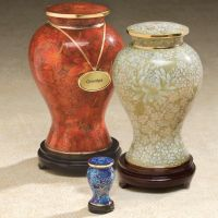 Cloiselle On Brass Cremation Urn