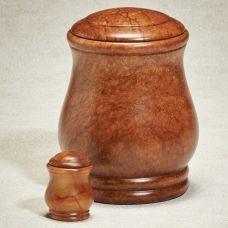 Coconut Grove Alabaster Stone Cremation Urn