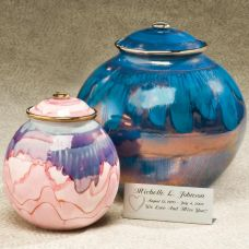 Corona Galaxy Ceramic Cremation Urn