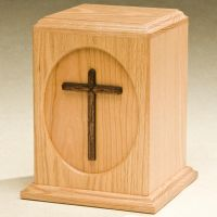 Cross Cremation Urn