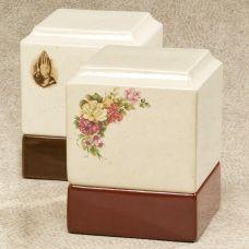 Cynthia Cermaic Box Cremation Urn
