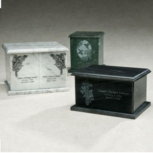 Evermore Marble Cremation Urn -  - 533512