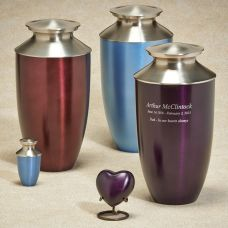Fall Meadow Brass Cremation Urn