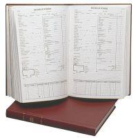 Funeral Record Book Service Record