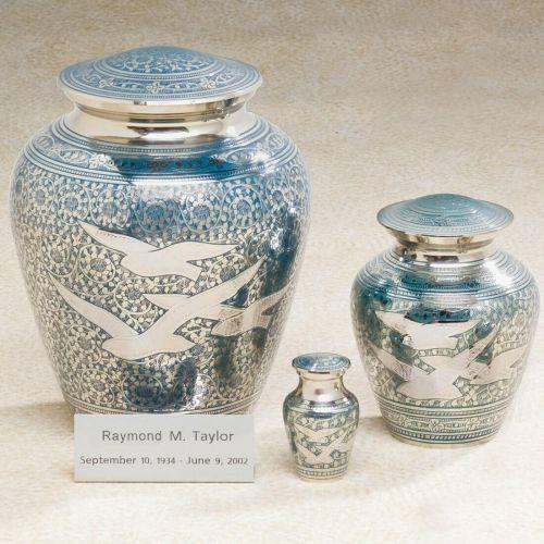 Going Home Brass Cremation Urn -  - 538217