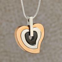 Gracious Heart Keepsake Cremation Pendant