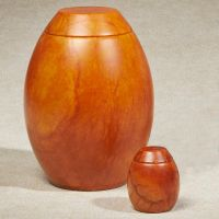 Harvest Moon Alabaster Stone Cremation Urn