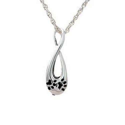 Infinity Paw Print Keepsake Jewelry Pendant -  - 887009