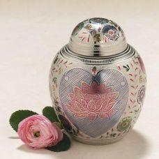 Lotus Blossom Cremation Urn