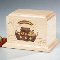 Maple Wood Cremation Urns for Children, Babies & Infants