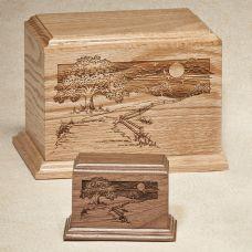 Oak Pathway Home Cremation Urn