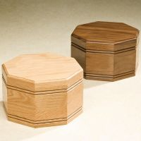 Octagon Cremation Urn