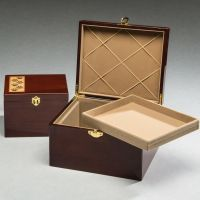 Paw Print Memory Chest Cremation Urn