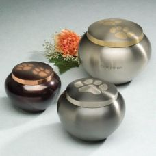 Paw Print Odyssey Series Cremation Urn