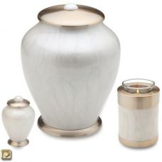 Pearl Simplicity Cremation Urn