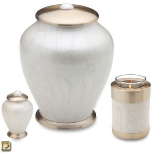 Pearl Simplicity Cremation Urn -  - 880069