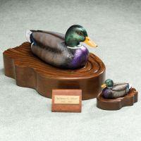 Regal Mallard Duck Cremation Urn