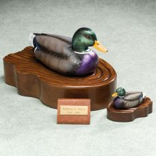 Regal Mallard Duck Cremation Urn
