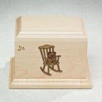 Rocking Chair Cremation Urn