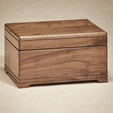 Walnut Memory Box Cremation Urn