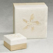 White Hemp Cremation Urn