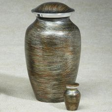 Winter Oak Cremation Urn