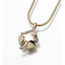 4 Leaf Clover Pendant/Necklace Engravable Cremation Urn Jewelry
