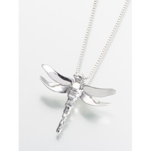 Dragonfly Pendant/Necklace - Cremation Urn Jewelry -  - 163GV