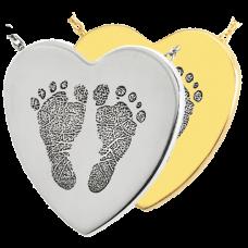B&B Heart 2 Footprints Jewelry