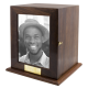 Elegant Photo Wood Adult Urn -  - SWH-005L