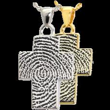 B&B Cross Fingerprint Jewelry