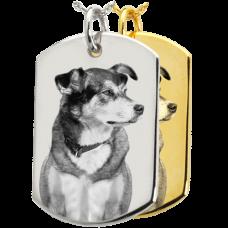 B&B Dog Tag Pet Photo Jewelry