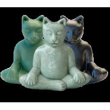 Buddha Cat Urn