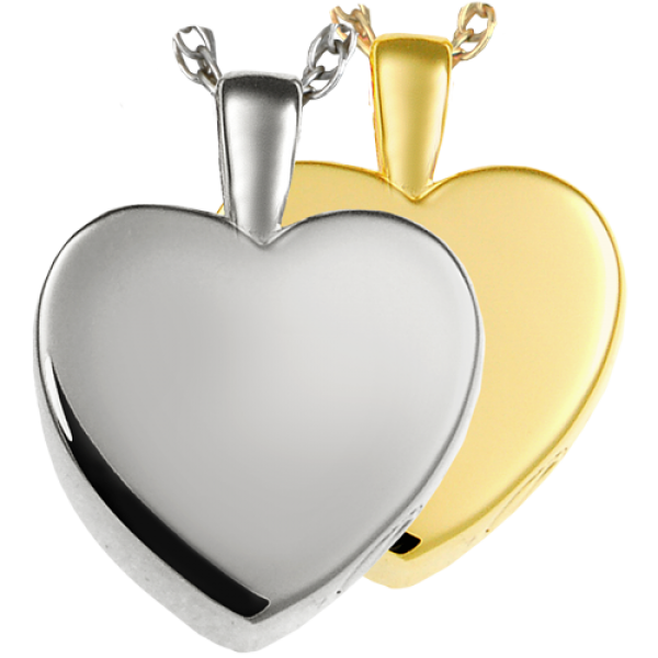 Cremation Memorial Jewelry Cremation Jewelry Classic Heart