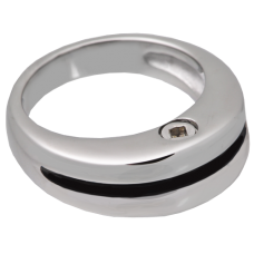 Cremation Jewelry: Premium Stainless Steel Zenith Ring