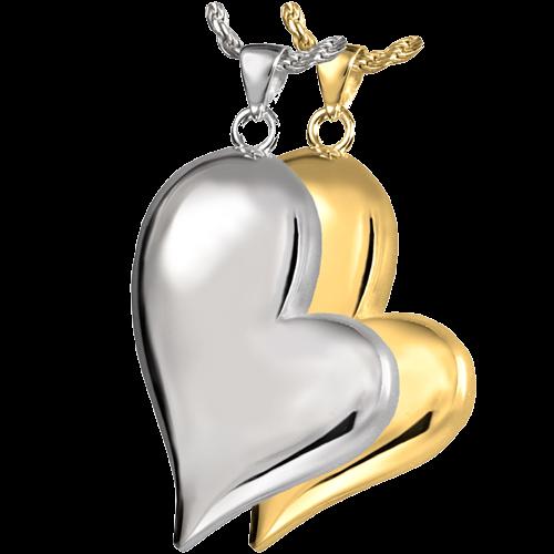 Cremation Jewelry Teardrop Heart Pendant -  - 3746 / 3746DC