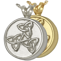 Cremation Jewelry: Trinity Celtic Pendant
