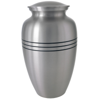 Cremation Urn: Traditional Pewter