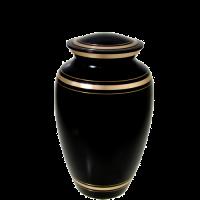 """Cremation Urns: Black Gold- 6"""" Sharing Urn"""