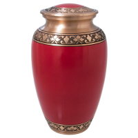Cremation Urns: Cherry Red