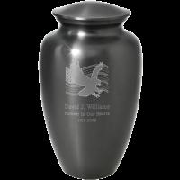 Cremation Urns: Patriotic Flag and Eagle