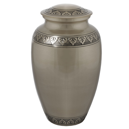Cremation Urns: Tranquil Forest Pewter -  - 8348A