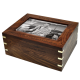 Dog Urn: Perfect Wood Box with Photo Frame, Large -  - SWH-166